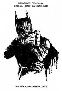 The Dark Knight Rises - Drawing by Karthik Abhiram
